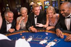 table cartes jeton black jack joueurs